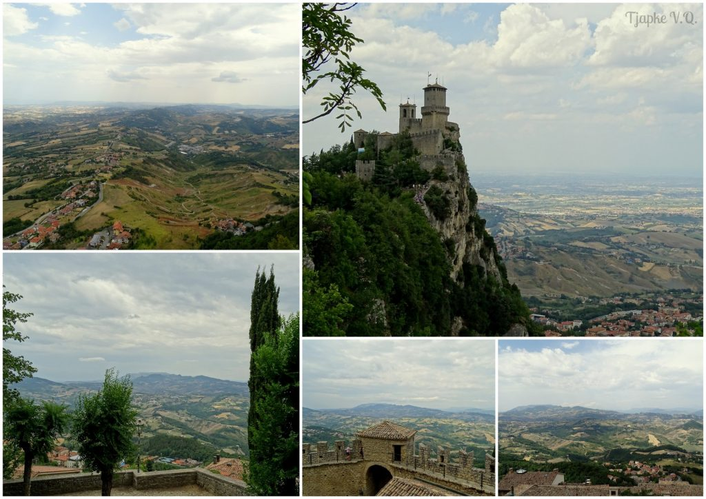 uitzicht San Marino