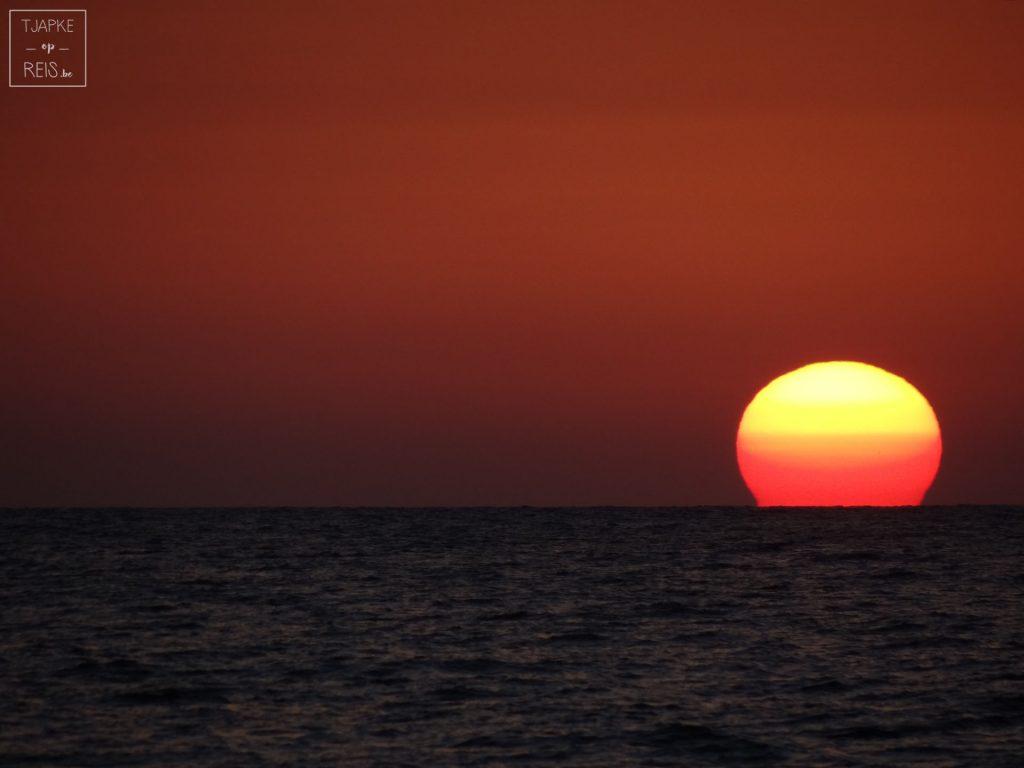 Zonsondergang Sardinië