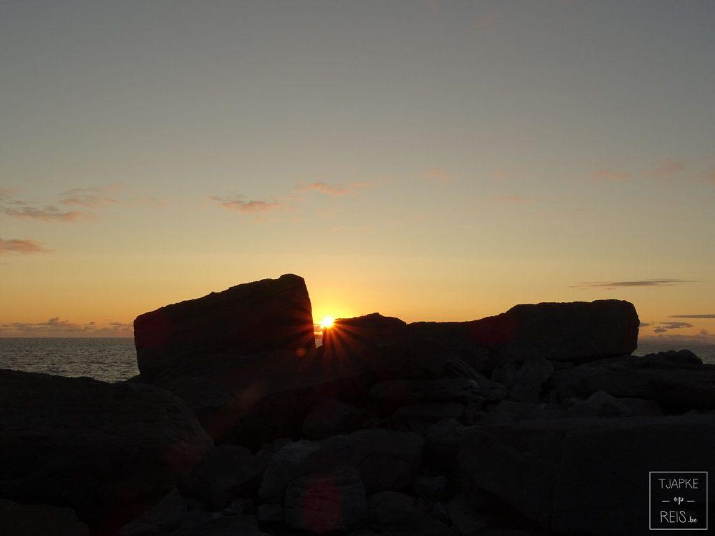 Zonsondergang Doolin